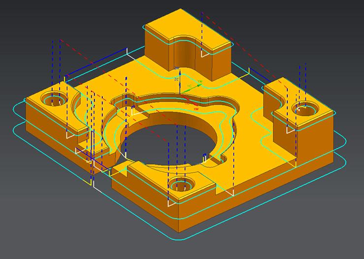 24 加工模板的制作及修改 25 夹具的设计技巧 26 线框零件图的加工